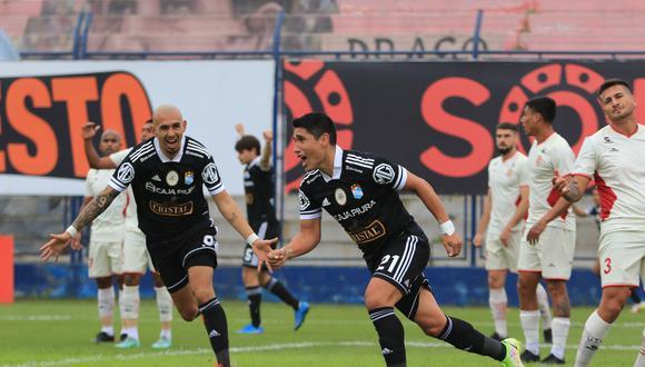 Irven Ávila marcó un doblete para Sporting Cristal ante UTC. (Foto: Liga de Fútbol Profesional)