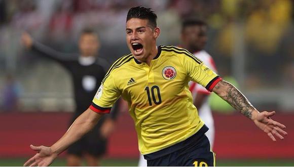 James Rodríguez jugó dos mundiales con Colombia. (AFP)