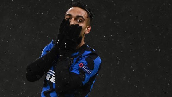 Inter de Milán es segundo en la Serie A, a un punto del líder AC Milan. (Foto: AFP)