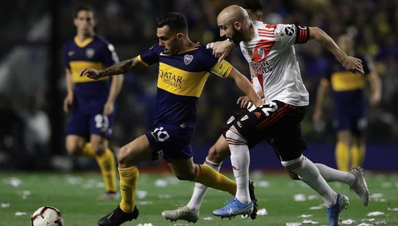 Boca Juniors y River Plate ya conocen a los rivales que enfrentarán en la Copa de la Liga Profesional. (Foto: AFP)