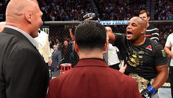Daniel Cormier enfrentaría a Brock Lesnar recién a inicios de 2019. (Getty Images)