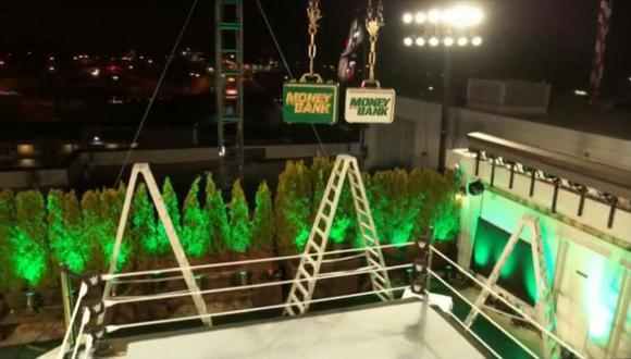 WWE transmitirá en vivo gran parte de The Money in the Bank 2020 desde el Titan Towers. (WWE)