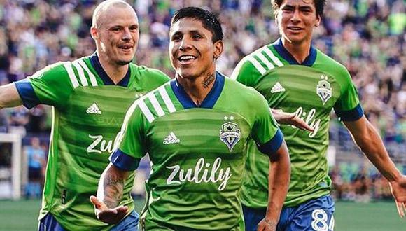 Raúl Ruidíaz es el goleador actual de la MLS, con 11 anotaciones. (Foto: Seattle Sounders FC)