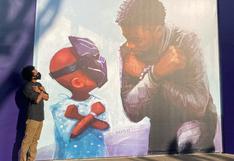 Disney reveló el mural que hicieron en homenaje a Chadwick Boseman