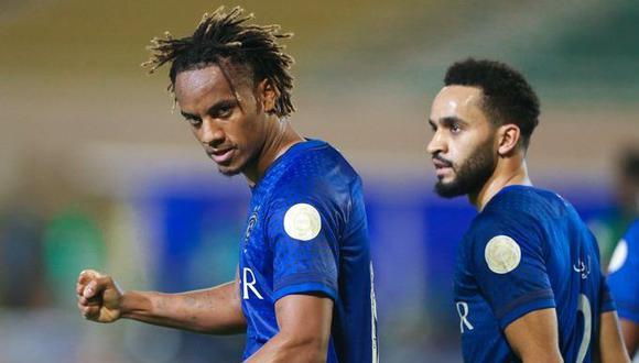Carrillo marcó y asistió para la tercera consagración de Al Hilal en la Liga de Campeones de la AFC contra el Urawa Red Diamonds japonés. (Foto: AFP)