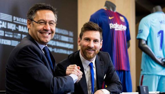 Lionel Messi tiene contrato con el FC Barcelona hasta junio de 2021. (EFE)