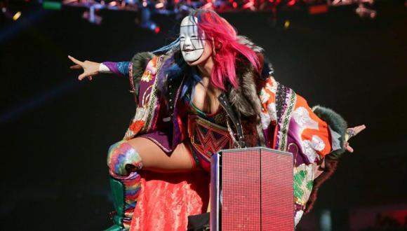 Asuka tiene actualmente una rivalidad con Mandy Rose. (WWE)