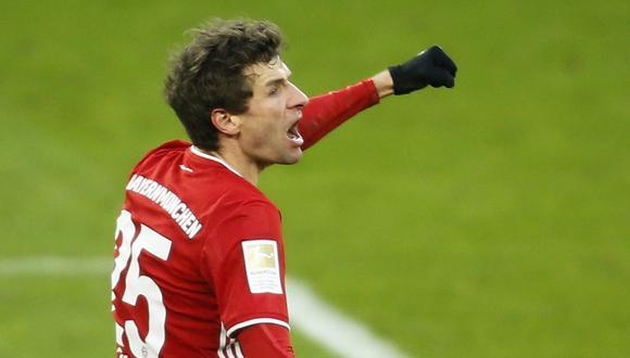 Thomas Müller dio positivo a COVID en la previa de la final del Mundial de Clubes. (Foto: Reuters)
