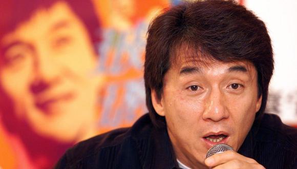 Jackie Chan piensa en adaptar el manga y el anime creados por el artista japonés Akira Toriyama.  (Foto: AFP)
