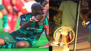 Jefferson Farfán y la terrible falta que recibió en el partido frente Sport Huancayo