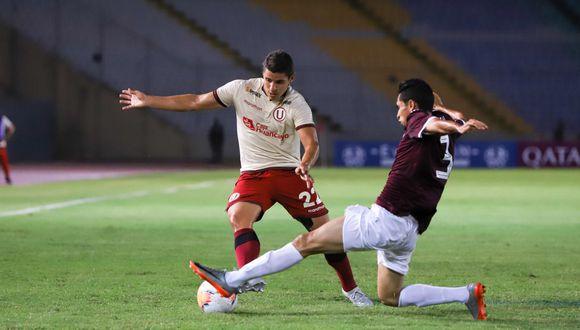Universitario de Deportes empató 1-1 ante Carabobo en el partido de ida en Venezuela. (Prensa 'U')