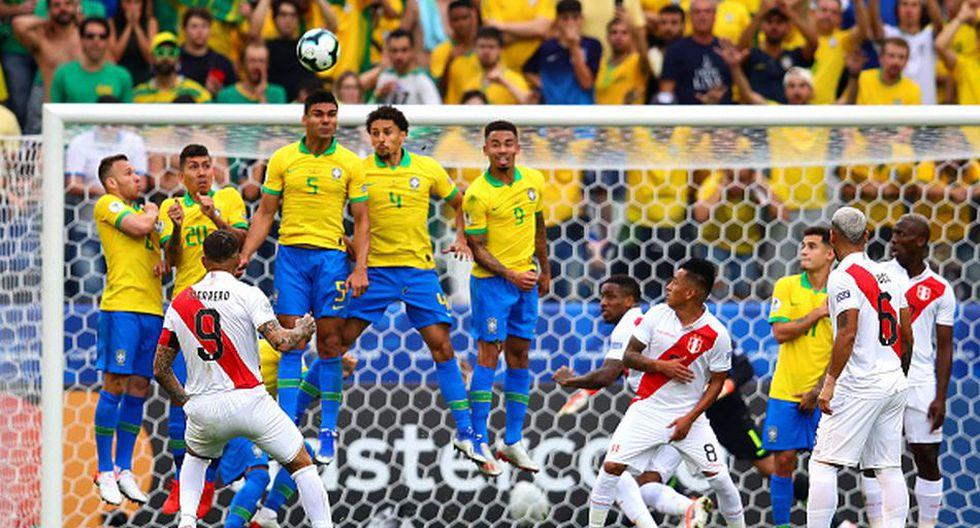 Perú y Brasil juegan en el Maracaná por la final de Copa América 2019. (Getty)