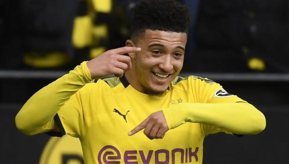 Jadon Sancho iniciará la pretemporada con Borussia Dortmund. (Foto: AFP)