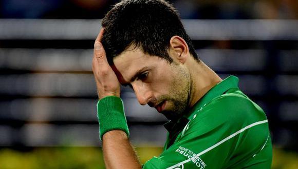 Novak Djokovic fue descalificado de octavos de final del US Open. (Foto: AFP)