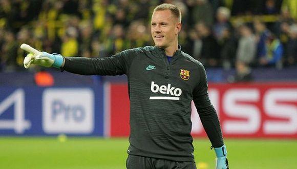 Ter Stegen ha ganado una Champions con la camiseta del Barcelona. (Foto: Getty)