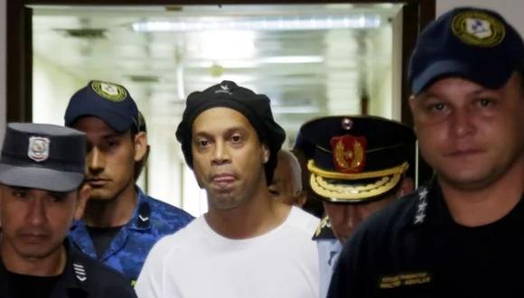 Ronaldinho lleva 12 días en prisión en Paraguay. (Foto: Difusión)