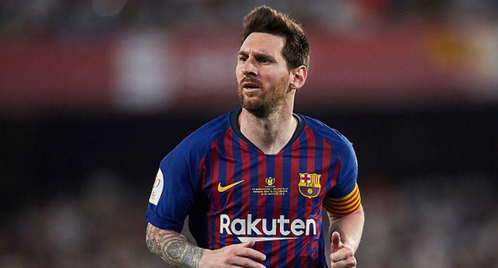 Lionel Messi ganó cuatro Champions League con el Barcelona. (Getty)