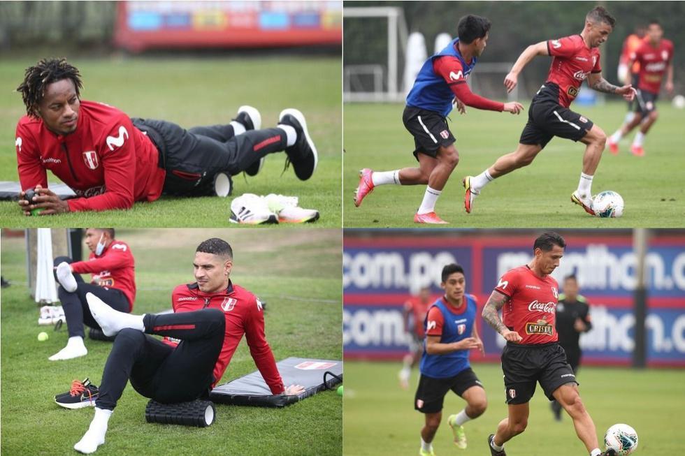 La selección peruana entrenó pensando en el partido contra Venezuela por las Eliminatorias. (Foto: FPF)