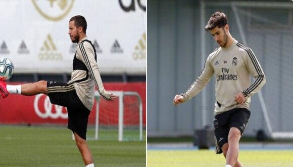 Real Madrid regresó a los entrenamientos el lunes. (Foto: Real Madrid CF)