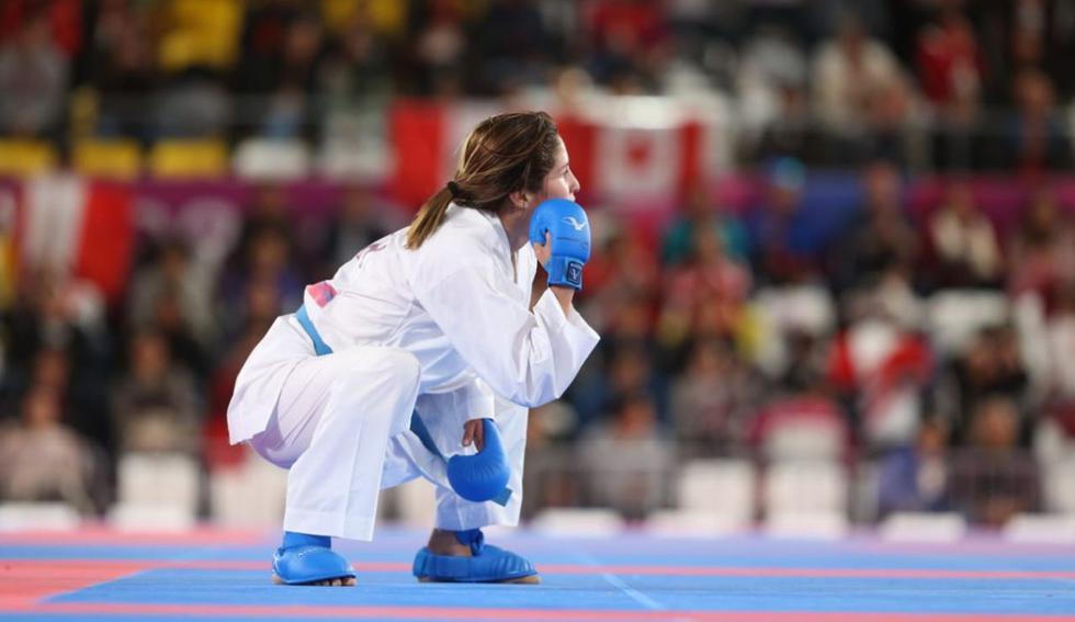 Alexandra Grande va por el oro: mejores imágenes de su victoria y pase a la final de Karate-Kumite en Lima 2019. (Foto: Violeta Ayasta)