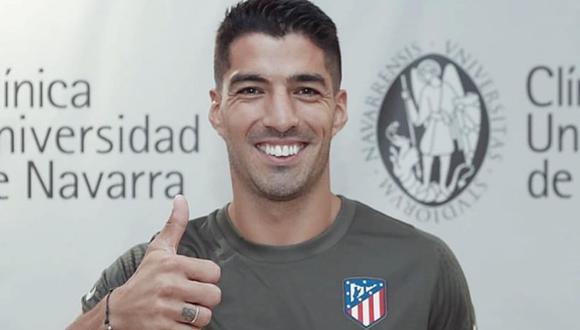 Luis Suárez llegó a un acuerdo con el Atlético por las próximas dos temporadas. (Foto: Deportes Cuatro)