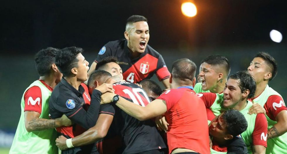 La selección Sub 23 venció a Paraguay en la tercera fecha del Preolímpico. (Foto: Twitter de Reyes de la '10')