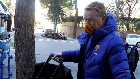 Ronald Koeman llegó al Barcelona en la temporada 2020-21. (Foto: EFE)