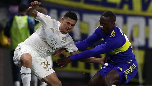 Boca Juniors venció a Colón en La Bombonera por la Liga Profesional. (Foto: AFP)