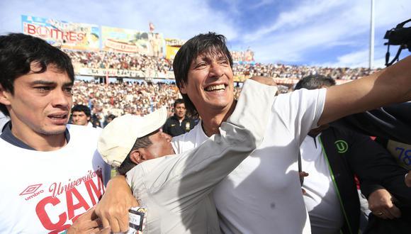 La 'U' de Ángel Comizzo jugó 47 partidos para ganar el Descentralizado 2013. (USI)
