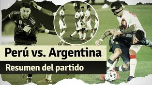 Argentina 1-0 Perú: Mira aquí el resumen del partido por Eliminatorias Qatar 2022