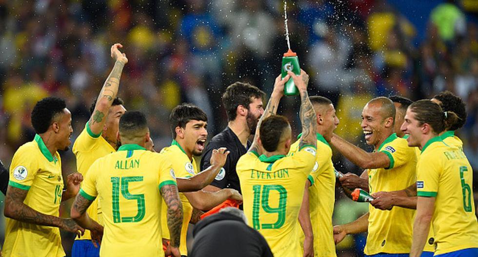 Brasil le ganó 3-1 a Perú en la final de la Copa América (Foto: Getty Images)