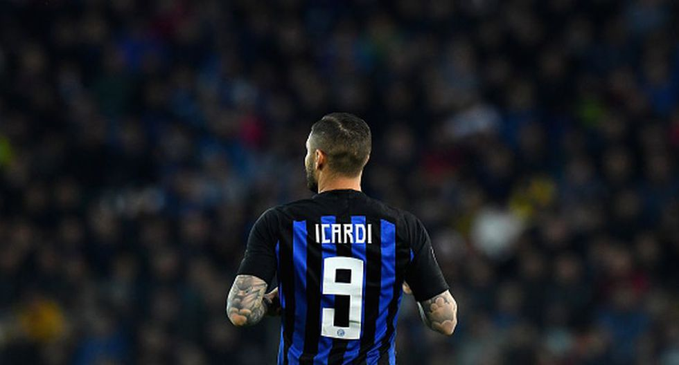 Mauro Icardi zanjó dudas sobre su futuro en el Inter de Milán. (Getty Images)