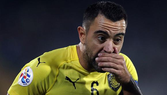 Xavi juega en el Al-Sadd SC de Qatar desde el 2015. (Getty)