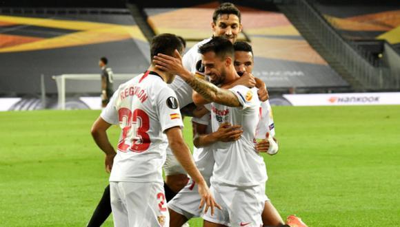 El cuadro andaluz venció al United y avanzó a la final de la Europa League. (Foto: Sevilla FC)