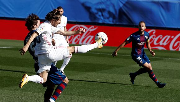 Real Madrid venció 4-1 a Huesca: mira los goles y revive incidencias por LaLiga Santander 2020. (Agencias)