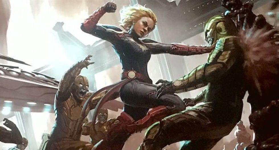 Capitana Marvel (Foto: Marvel)