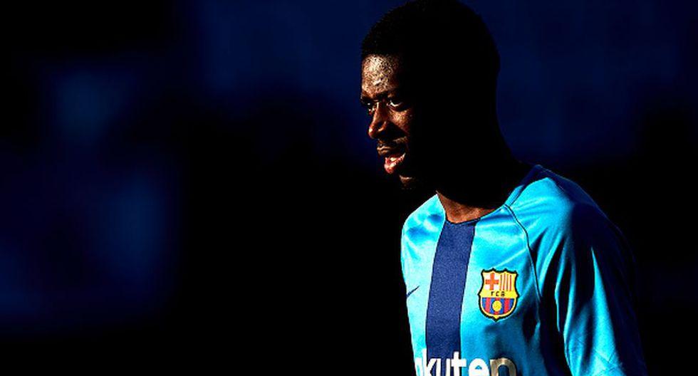 Dembélé llegó al Barcelona en 2017 desde el Dortmund. (Getty)