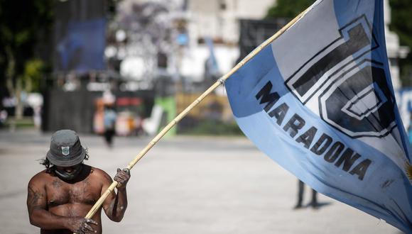 Diego Maradona falleció este miércoles en su casa de Tigre tras sufrir un paro respiratorio. (Foto: EFE)
