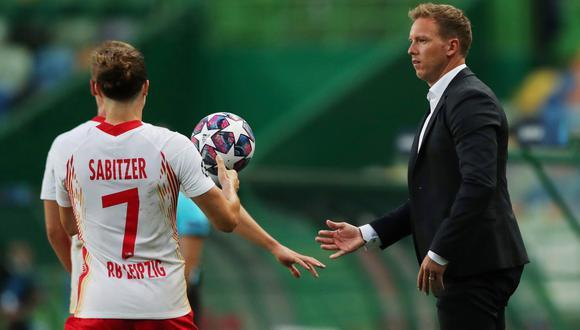 Julian Nagelsmann tiene contrato con el Leipzig hasta 2023. (Reuters)