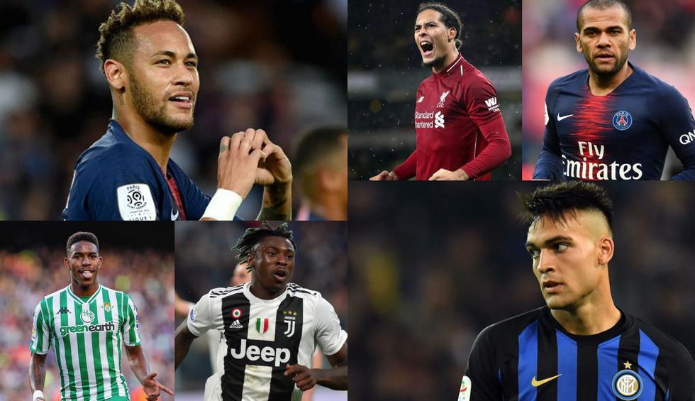 Esto recién empieza: Neymar, Lautaro y el top 20 de cracks en la agenda de fichajes del Barcelona [FOTOS]