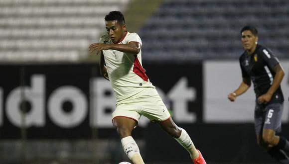 En el torneo local, Josué Estrada ya registra 343 minutos. (Foto: Liga 1)