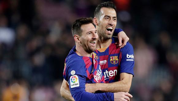 Sergio Busquets es el nuevo capitán del FC Barcelona. (Foto: Getty)