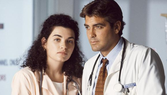 "Fue George Clooney quien le contó a Julianna Margulies que se convertiría en un personaje regular de ""ER"" (Foto: NBC)"