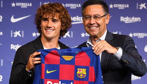 Presidente del Barcelona respondió al reclamó del Atlético de Madrid por el fichaje de Antoine Griezmann. (Getty Images)