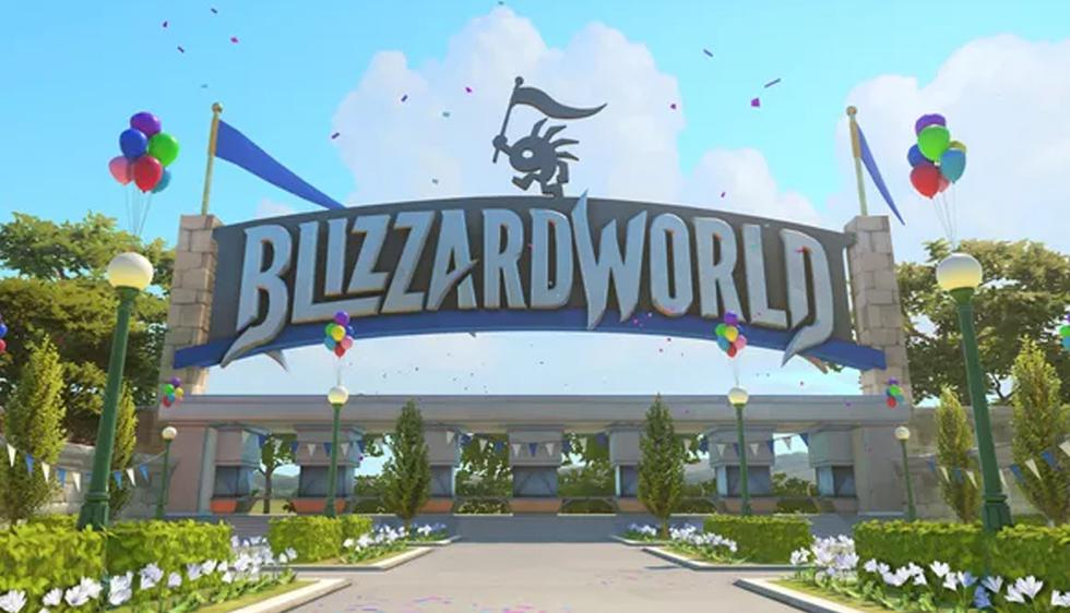 Blizzard World (Foto: PlayOverwatch)