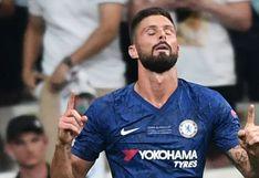 Olivier Giroud contó que el coronavirus fue uno de los motivos para continuar en el Chelsea inglés
