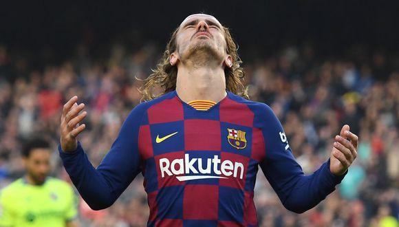 Antoine Griezmann llegó al Barcelona desde el Atlético de Madrid por 120 millones de euros. (Getty)