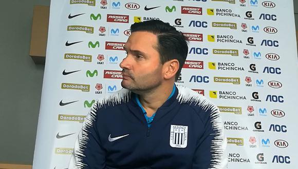 El directo Deportivo de Alianza Lima, Victor Marulanda, habló de los talentos que quiso llevarse a Atlético Nacional. (Foto: GEC)