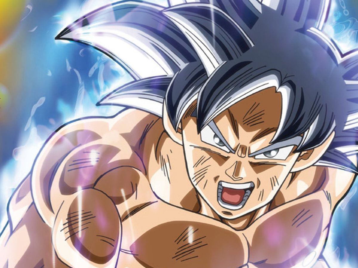 Dragon Ball Super Goku Ultra Instinto Perfecto Se Mostro En Nueva