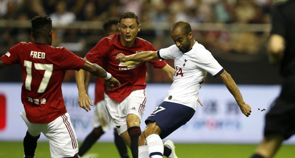 Tottenham vs. Manchester United por Premier League. (Agencias)